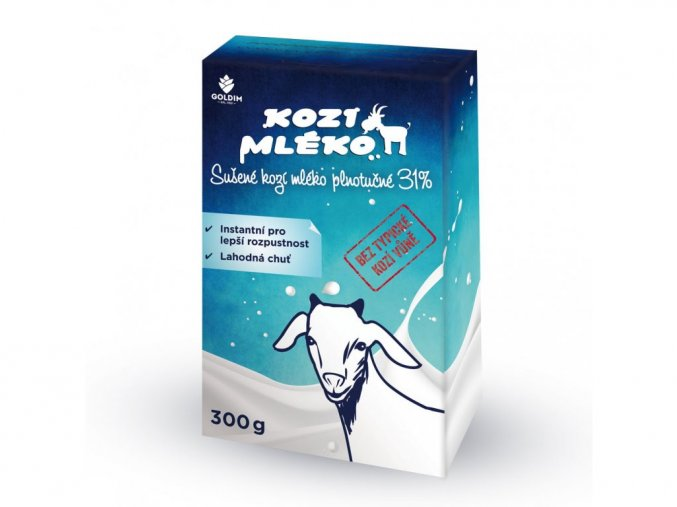 Goldim Kozie mlieko sušené instantné 300 g