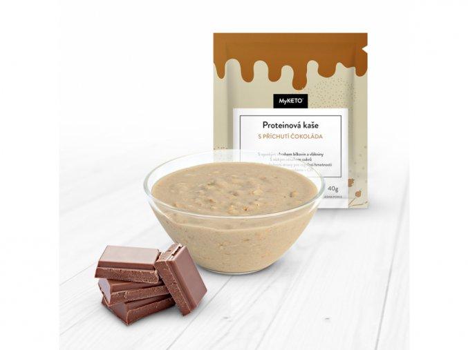 MyKETO Proteínová kaša s príchuťou čokoláda 1 porcia 40g