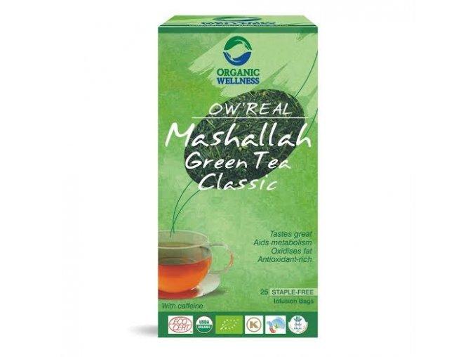 ORGANIC WELNESS BIO TULSI zelený čaj Mashallah 25ks