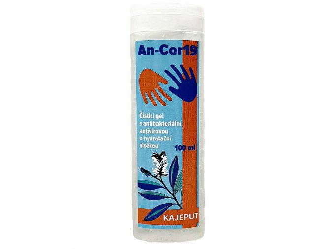 Kajeput AN-cor19 - dezinfekčný bezoplachový gél 100ml