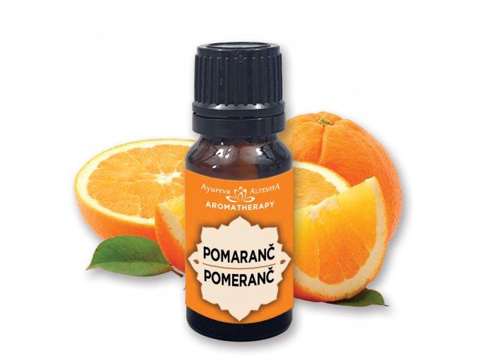 Altevita 100% esenciálny olej ORANGE (pomaranč) 10ml