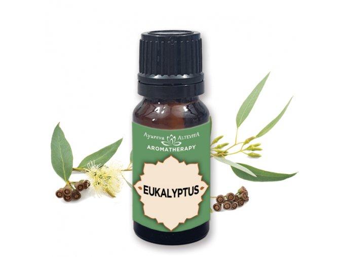 Altevita 100% esenciálny olej EUCALYPTUS (eukaluptus) 10ml