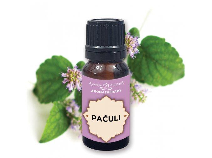 Altevita 100% esenciálny olej PATCHOULI (Pačuli) Olej obohacovania 10ml