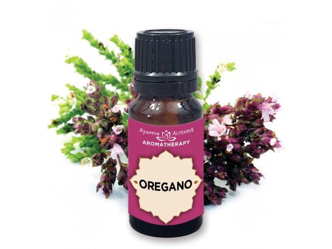 Altevita 100% esenciálny olej OREGANO - Olej revitalizácie 10ml