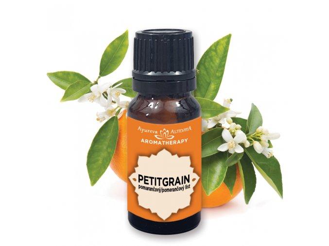 Altevita 100% esenciálny olej PETITGRAIN (pomarančové listy) 10ml