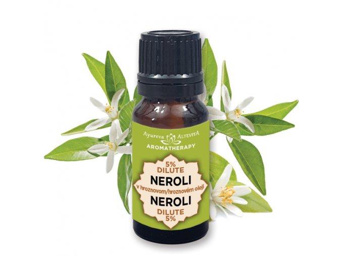 Altevita 5% dilute esenciálny olej NEROLI (pomarančový kvet) 10ml