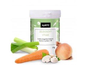 MyKETO zeleninový vývar 24 porcií