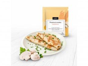 MyKETO proteínová omeleta šampiňónová 40g