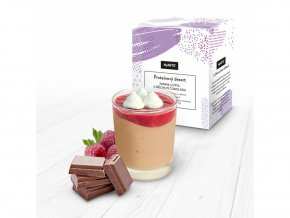 MyKETO proteínový dezert panna cotta s príchuťou čokolády 5 porcií
