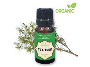 Altevita 100% esenciálny olej ORGANIC TEA TREE (čajovník) - Olej bez hraníc  10ml