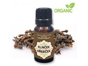 Altevita 100% esenciálny olej ORGANIC KLINČEK -  Olej pre zuby a dezinfekciu 10ml