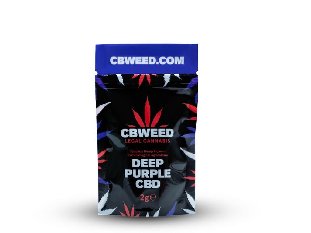 Deep purple cbd cbweed 2g