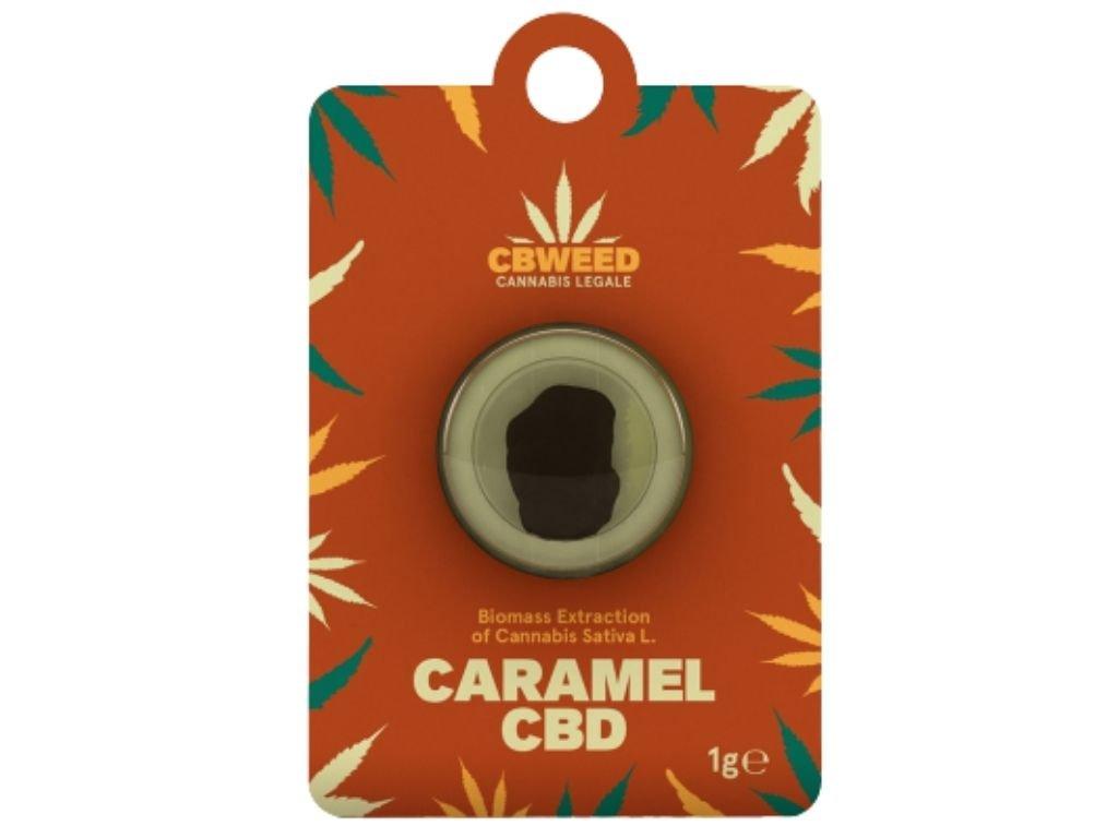 caramel cbd hashish cbweed