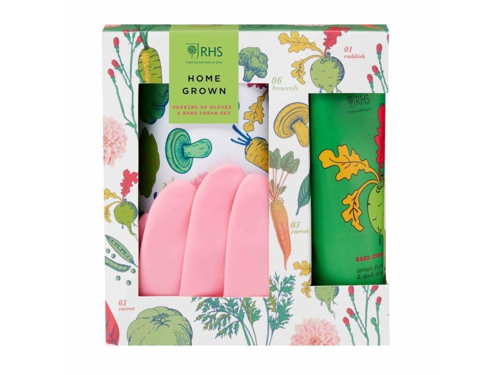 60858 heathcote ivory darkova sada s rukavicemi na myti nadobi home grown 2ks