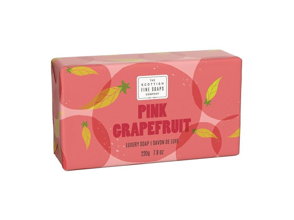 42998 1 scottish fine soaps mydlo ruzovy grapefruit 220g