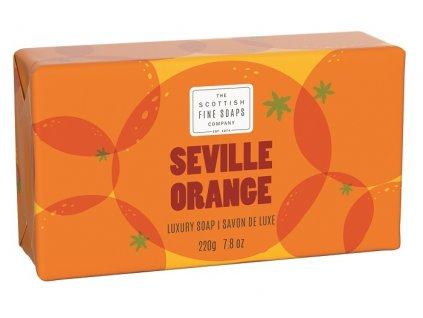 43001 1 scottish fine soaps mydlo pomeranc 220g