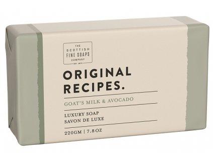 43064 1 scottish fine soaps mydlo kozi mleko a avokado 220g