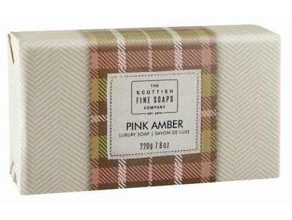 42077 1 scottish fine soaps jemne mydlo ruzova ambra 220g