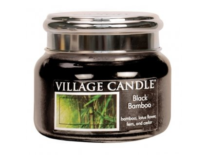 41768 1 village candle vonna svicka ve skle bambus black bamboo 11oz