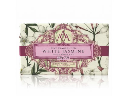 AAA Floral Soap Bar White Jasmine High Res
