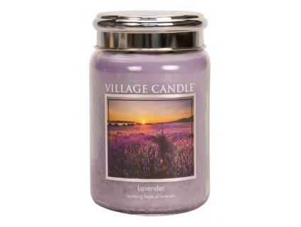 41969 1 village candle vonna svicka ve skle levandule lavender 26oz