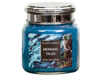 43526 1 village candle vonna svicka ve skle pribehy morskych pannen mermaid tales 26oz