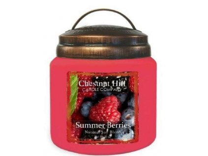 chestnut hill candle summer berries 16