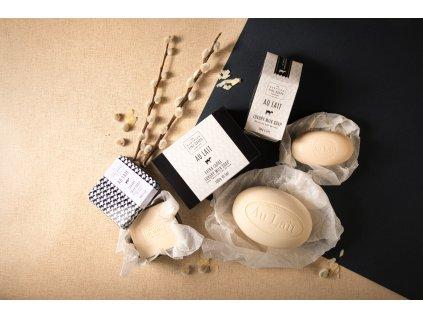 39407 1 scottish fine soaps mydlo au lait cerstve mleko 100g