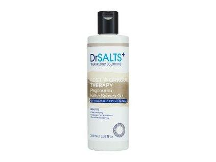 45824 1 dr salts koupelovy a sprchovy gel post workout therapy 350ml