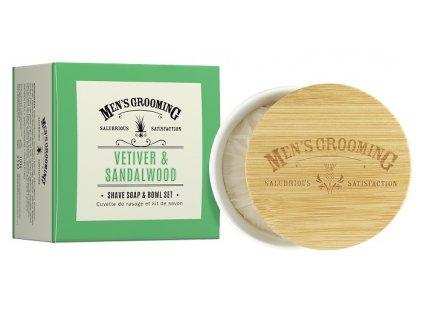 42947 1 scottish fine soaps panske mydlo na holeni v doze vetiver a santalove drevo 100g