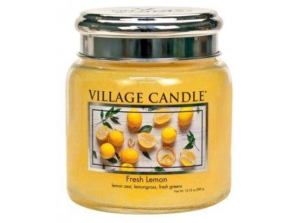 44474 1 village candle vonna svicka ve skle svezi citron fresh lemon 16oz