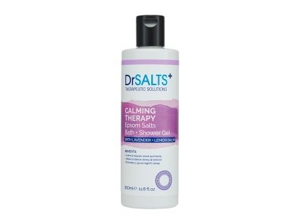 45818 1 dr salts koupelovy a sprchovy gel calming therapy 350ml