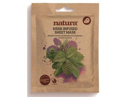 43151 1 natura textilni pletova maska proti nedokonalostem pleti 22ml