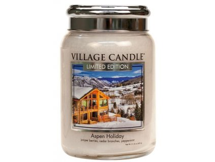 56712 village candle vonna svicka ve skle prazdniny na horach aspen holiday 26oz