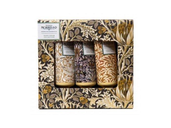 47459 3 heathcote ivory sada kremu na ruce iris cardamom 3x30ml