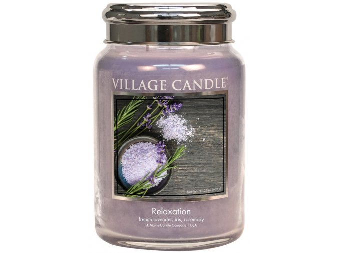 46796 1 village candle vonna svicka ve skle relaxation 26oz limited edition