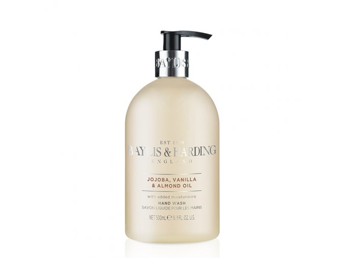 41489 1 baylis harding tekute mydlo na ruce jojoba vanilka a mandlovy olej 500ml