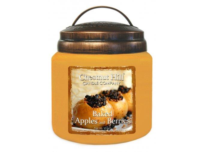 43778 chestnut hill vonna svicka ve skle pecena jablka a bobule baked apples and berries 16oz