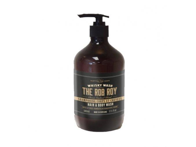 45590 1 scottish fine soaps pansky myci gel na ruce a telo the rob roy whisky 500ml