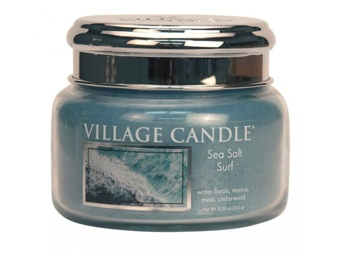 44501 1 village candle vonna svicka ve skle morsky priboj sea salt surf 11oz