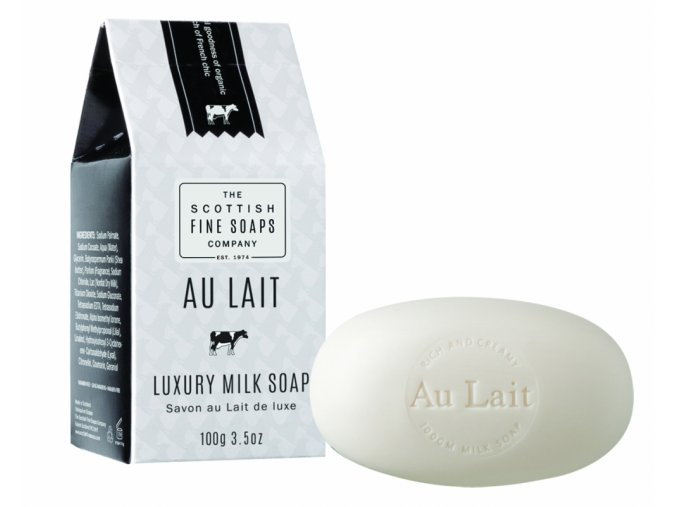 39407 1 scottish fine soaps mydlo au lait 100g
