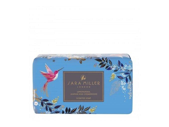 56454 heathcote ivory luxusni trikrat jemne mlete mydlo blue 240g