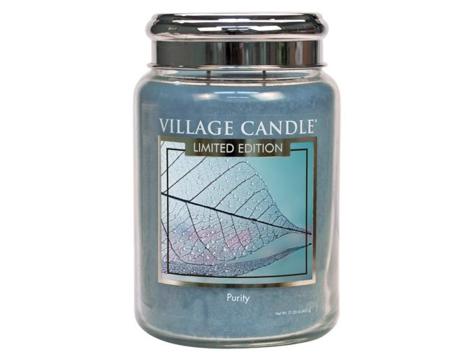 44432 1 village candle vonna svicka ve skle purity 26oz limited edition