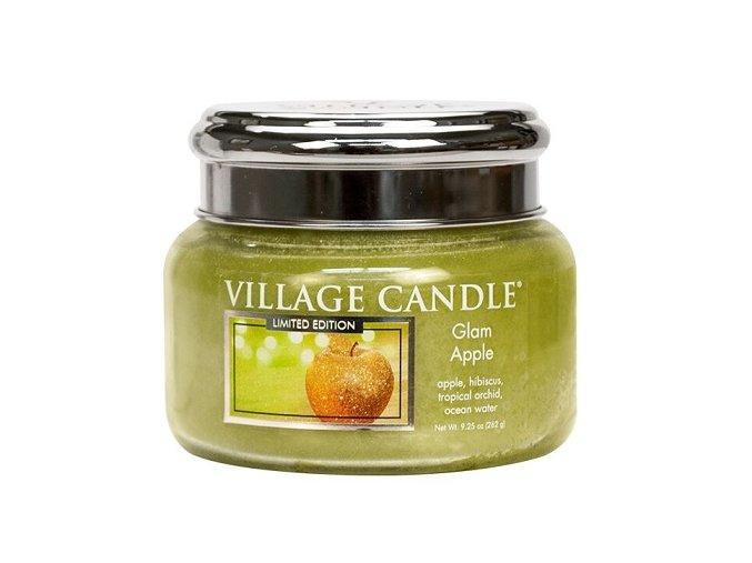56667 village candle vonna svicka ve skle glam apple 11oz