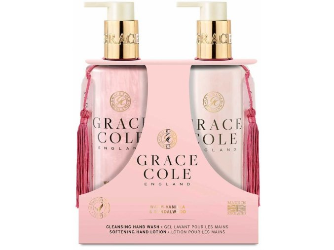 44681 1 grace cole tekute mydlo na ruce jemne mleko na ruce warm vanilla sandalwood 2x300ml