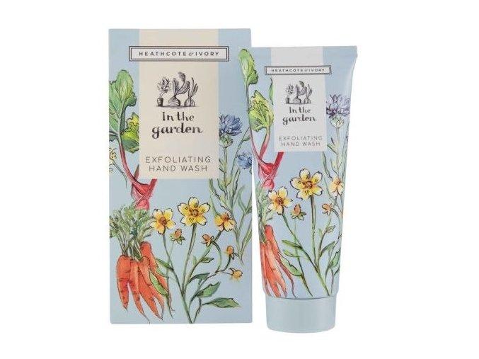 45134 1 heathcote ivory exfoliacni mydlo na ruce in the garden 100ml