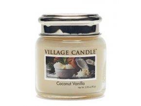 56925 village candle vonna svicka ve skle kokos a vanilka coconut vanilla 3 75oz