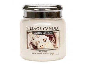 57141 village candle vonna svicka ve skle snoconut 16oz