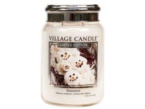 57177 village candle vonna svicka ve skle snoconut 26oz