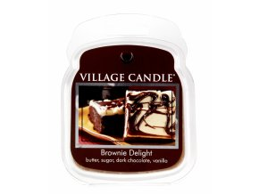 39371 1 village candle vosk cokoladovy dortik brownie delight 62g